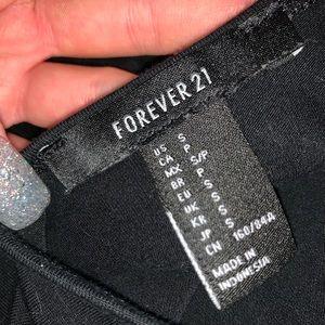 Forever 21 Other - Black halter onesie
